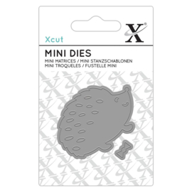 Xcut Mini Die Dapper Hedge Hog