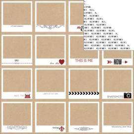 Teresa Collins - Hello My Name Is - Polaroids