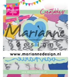 Marianne Design - Creatables - Van Harte & ballon - 25th anniversary