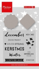 Marianne Design - Stempel & Stencil - Project NL December