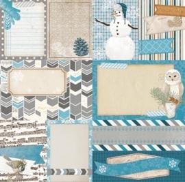 BoBunny - Woodland Winter - Cozy