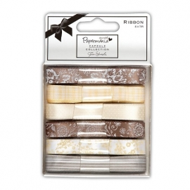 Papermania - Capsule Ribbons - Lincoln Linen