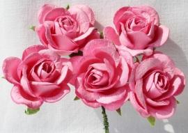 Trellis Roses - Pink