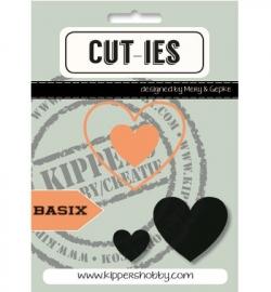 CUT-IES - Basix - Hearts (snijmallen)