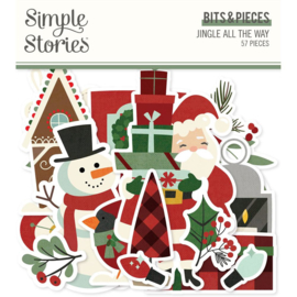 Simple Stories - Jingle All The Way - Bits & Pieces