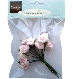 Marianne Design - Paper Roses -  Light Pink