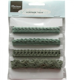 Marianne Design -Vintage Lace Christmas Green