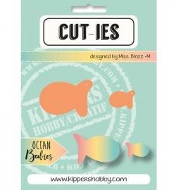 CUT-IES - Ocean Babies - Fish (snijmallen)