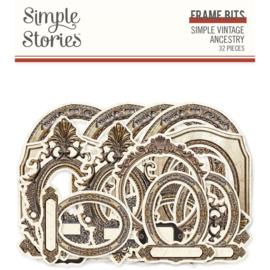 Simple Stories - Simple Vintage Ancestry - Frame Bit & Pieces
