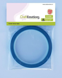 CraftEmotions Power Tacky tape 6 mm 10 MT 1 RL
