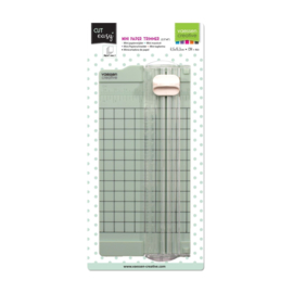 NIEUW Vaessen Creative - Mini papiersnijder 6,5x15,3cm mint