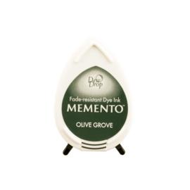 Tsukineko Memento Dew Drops inktkussen - Olive Grove