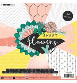 Studio Light - Paper Pad - Sweet Flowers nr.137