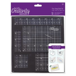Docrafts Clear Stamp Block Set (5 stuks)