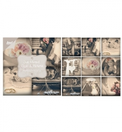 Joy!crafts - Papierblok - Just Married - Paper & Pictures