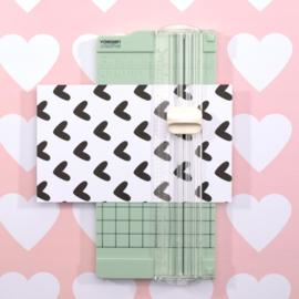 Vaessen Creative - Mini papiersnijder 6,5x15,3cm mint
