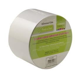 Vaessen Creative - Tape dubbelzijdig 65mm x 15m