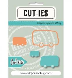CUT-IES - Cool kids - Cool Kids Bus (snijmallen)