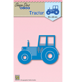 Nellie's Choice - Shape Dies Blue - Tractor