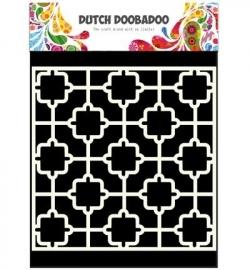 Dutch Doobadoo - Dutch Mask Art art Tile