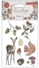 Craft Consortium - Winter Woodland - Clear Stamps