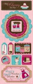 BoBunny - Sweet Tooth - Cardstock Stickers