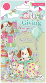 Craft Consortium - The Gift of Giving - Clear Stamps - Party Time