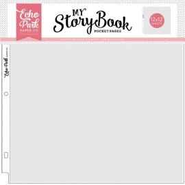Echo Park 12x12 Inch Pocket Page - 12x12 Inch Pocket (10 Sheets)