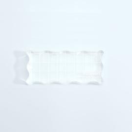 Vaessen Creative - Acrylblok 40x90mm