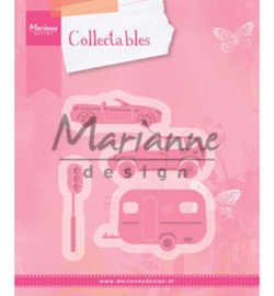 Marianne Design - Collectables - Village Decoration set 3 (cars)