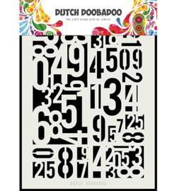 Dutch Doobadoo - Dutch Mask Art Numbers A5