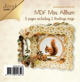 Joy!crafts MDF Album ca. 15 x 15 cm