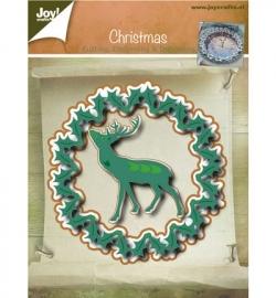 Joy!crafts! - Cutting , Embossing & Debossing - Kerstrand / Hert