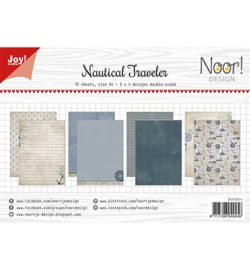 Joy!crafts - Papierset A4 - Noor Design - Nautical Traveler