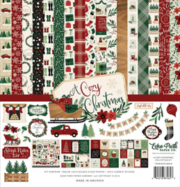 Echo Park -  A Cozy Christmas - 12x12 Inch Collection Kit
