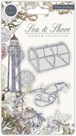Craft Consortium - Sea & Shore - Sea -  Clear Stamps