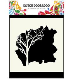Dutch Doobadoo Dutch Mask Art stencil - Mask Art Tree