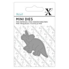 Xcut - Mini Die - Triceratops