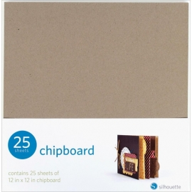 "Silhouette Chipboard 12""X12"" 25/Pkg"