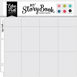 Echo Park 12x12 Inch Pocket Page - Combo Pack (10 Sheets)