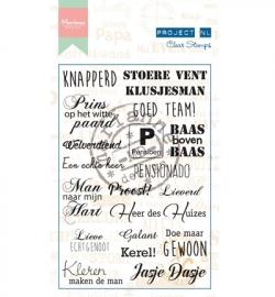 Marianne Design - Stempel Project NL - Heren (ouder)