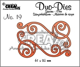 Crealies - Duo Die no. 20 Swirls 1