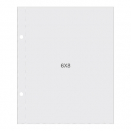 "Sn@p! Pocket Pages For 6""X8"" Binders 10 stuks"