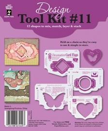 Hot Off The Press - Decorative Card Flaps Design Tool Kit 11