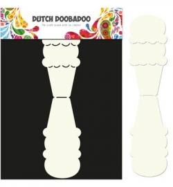 Dutch Doobadoo - Dutch Card Art Icecream
