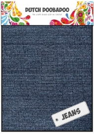 Dutch Doobadoo - Jeansstof - medium - A5 (2vel)