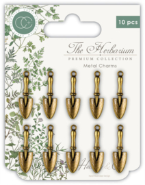 Craft Consortium - The Herbarium - Trowels  - Metal Charms