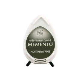 Tsukineko Memento Dew Drops inktkussen - Nothern Pine