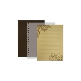 Fancy Pants - Artist Edition Spiral Brag Book Brown