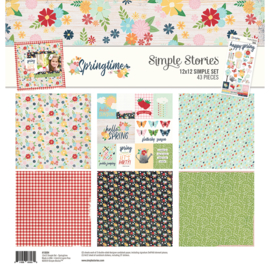 Simple Stories - Simple Spring Time - Collection Kit 30,5 x 30,5 cm